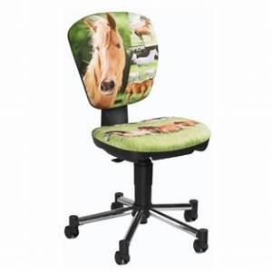 Chaise Pour Bureau : cheval chaise de bureau pour enfants kiddi star horse topstar az fournitures ~ Teatrodelosmanantiales.com Idées de Décoration