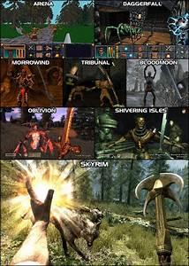 The Elder Scrolls Skyrim Vs Oblivion Console Tribe Forum