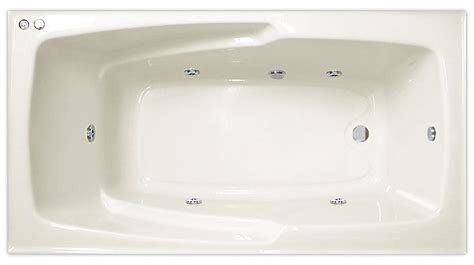 Standard Size Whirlpool Tub by Emerald 5 Standard Size Whirlpool Bath Tub With Jets Ebay