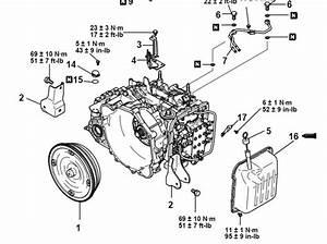 2003 Mitsubishi Lancer A  T Fluid Pan Torque Specs