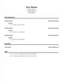 resume template high school graduate sles of resumes