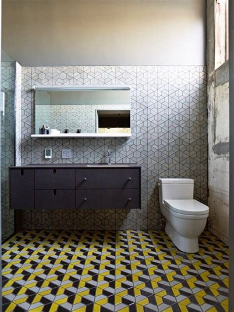 ideas   hex tiles  bathroom floors