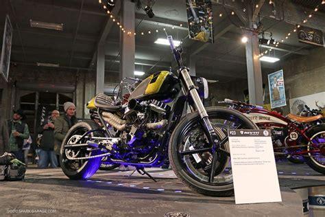garage brewed moto show   images cafe racer