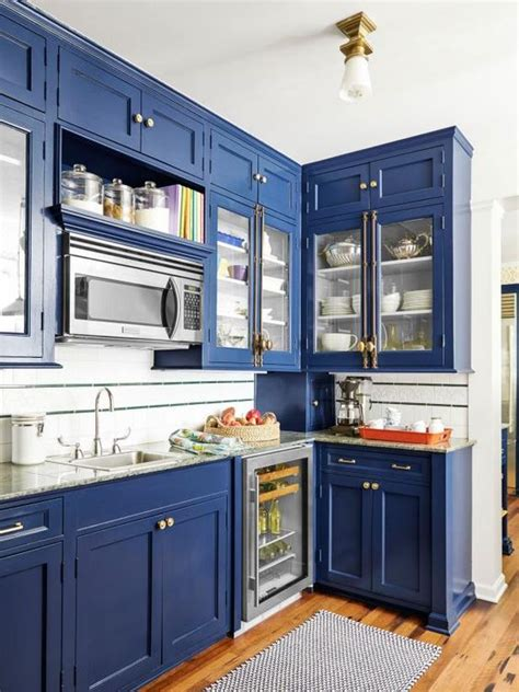 gorgeous blue kitchen decor ideas digsdigs