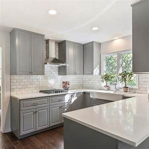 25 best ideas about gray and white kitchen on pinterest With kitchen cabinet trends 2018 combined with ice skating wall art