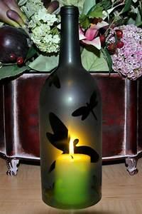 diy, lamp, from, wine, bottles, , u2013, creative, decorating, ideas