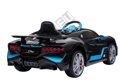 Meet the brand new bugatti divo, a 5 million euro track focused hypercar that will only ever see 40 examples hit the road, and guess what? Electric Ride-On Car Bugatti Divo Black Painted | | Tytuł ...