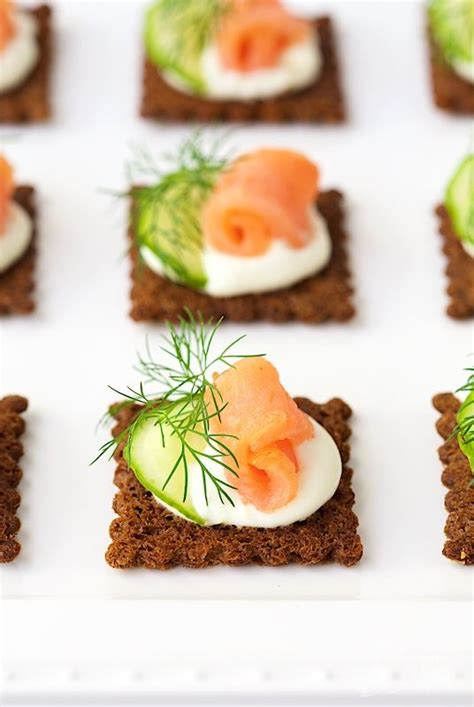 cheap easy canapes 17 best ideas about salmon canapes on smoked