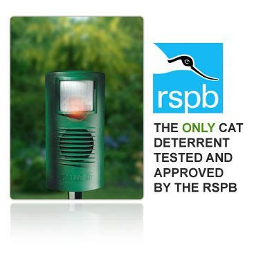 how to keep cats away catwatch the rspb approved ultrasonic cat deterrent to