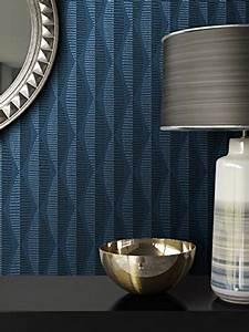 vliestapete schlafzimmer blau hrbaytcom With markise balkon mit newroom design tapete
