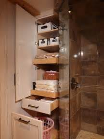 bathroom shelf idea five great bathroom storage solutions