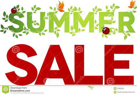 summer sale design royalty free stock photo image 31892595