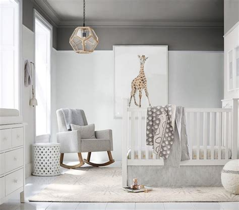 grey nursery room design ideas create  harmonious