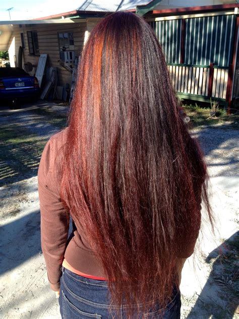 Beautiful Auburnred Hair With Henna Girl From Arabia