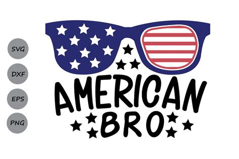 Free shipping on your first order shipped by amazon. American Bro SVG, Fourth of July SVG, Patriotic SVG ...