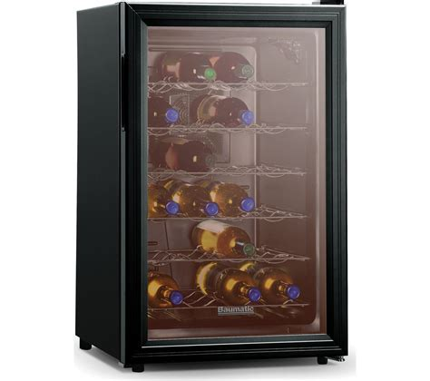 Buy BAUMATIC BW28BL Wine Cooler   Black   Free Delivery
