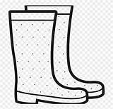 Rain Boots Coloring Clipart Printable Boot Bota Rainboots Botas Colorir Desenho Template Duck Drawing Colorare Spring Chuva Winter Ultra Craft sketch template