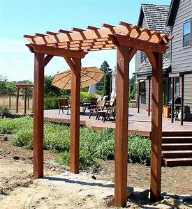 Woodwork Small Pergola Plans PDF Plans