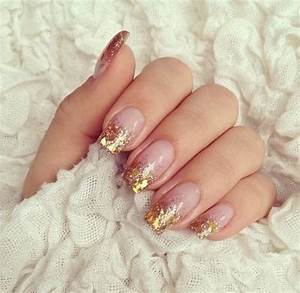 glitter tip acrylic nails new expression nails