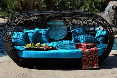 architectural design modern rattan outdoor furniture