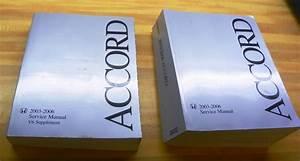 2003-2006 Honda Accord Factory Service Manuals