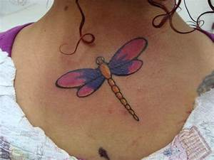 Simple Dragonfly Back Tattoo - CreativeFan