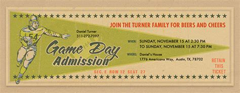 tailgating party  invitations evite