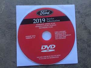 2019 Ford Escape Service Manual Dvd