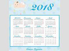 Calendário 2018 Pdf para Imprimir Download Grátis Toda