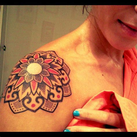 Gallery Watercolor Flower Tattoo Shoulder