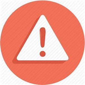 Alert, attention, eror, exclamation, notification, problem ...