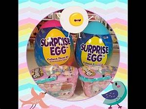 Walmart Surprise eggs and Shopkins Easter Baskets opening ...