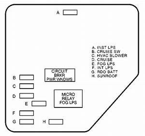 Chevrolet Malibu  2003  - Fuse Box Diagram