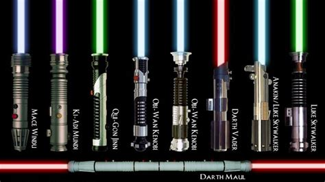 what color lightsaber would you wield just for