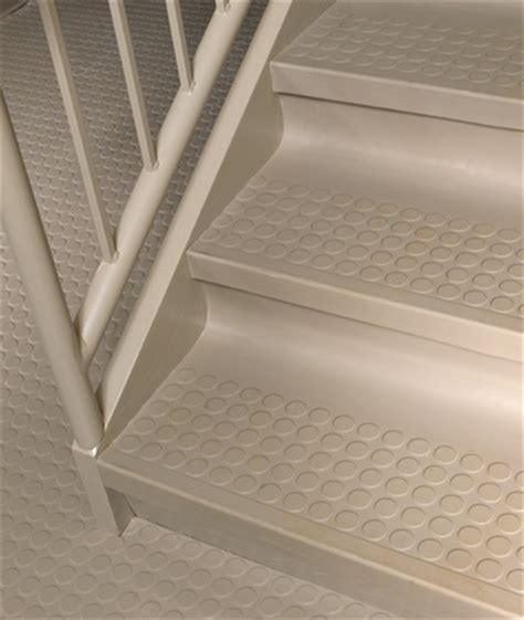 Rubber Stair Nosing For Tile by Raised Circle Rubber Stair Treads W Riser