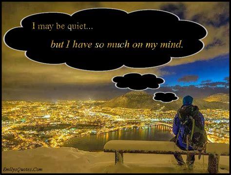 quiet        mind popular