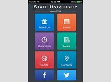 Iphone App Template Images Template Design Ideas