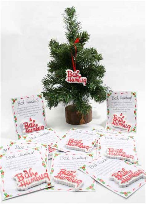 quot bah humbug quot resin ornaments christmas ornaments