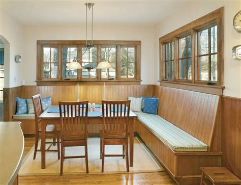 Custom Banquette Seating For An Upper Arlington, Ohio