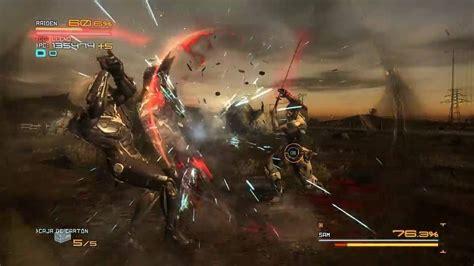 Metalgearrising Reveange Raiden Vs Sam Gameplay By