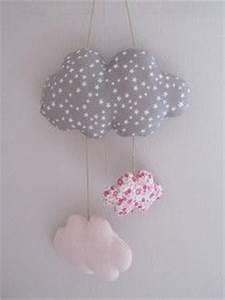 Mobile Bébé Nuage : tuto couture mobile nuage ~ Teatrodelosmanantiales.com Idées de Décoration