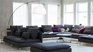 Ikea Wohnzimmer Schrankwand : wohnzimmer in schwarz wei tipps tricks ikea ~ Michelbontemps.com Haus und Dekorationen