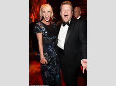 James Corden puts on an animated display with his wife