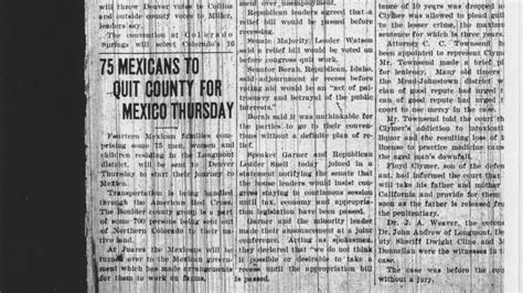 repatriation  deportation  mexicans