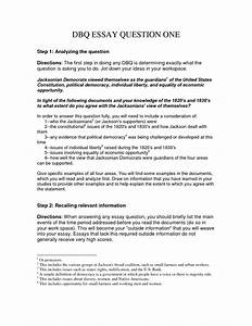 how to write a dbq essay With dbq essay outline template