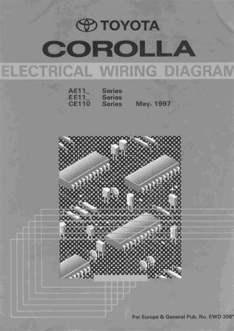 car manual toyota corolla 1999 wiring diagram