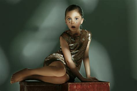 The Fashion Portrait Of Young Beautiful Preteen Girl At Studio Free Photo