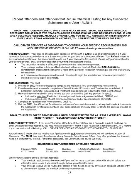 colorado dmv non resident form colorado suspended drivers license