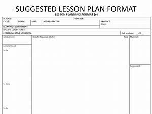 how to use the nepbe syllabus in a given lesson plan format With dok lesson plan template