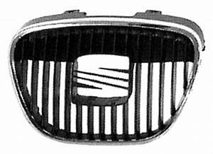 Calandre Seat Ibiza : grille calandre noire chrom e seat ibiza iii 2002 2006 neuve phase 1 pare chocs avant centrale sup ~ Melissatoandfro.com Idées de Décoration